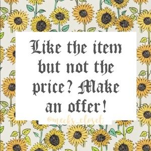 Denim - Reasonable offers always accepted! 🌻